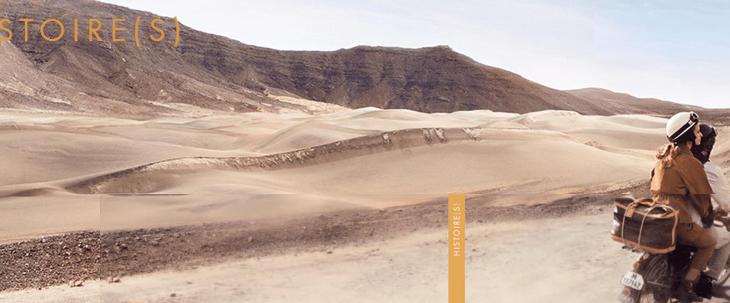 Nouveau film et site Louis Vuitton – HISTOIRE(S)