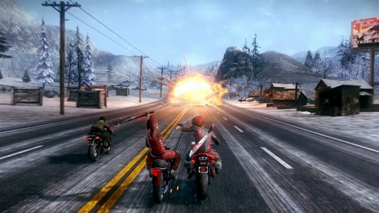 Road Redemption game screenshot