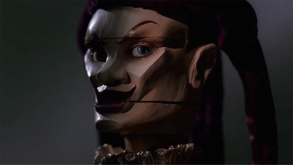 The Jester puppet from Puppet Master II