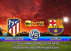 Prediksi Bola Atletico Madrid vs Barcelona 25 November 2018