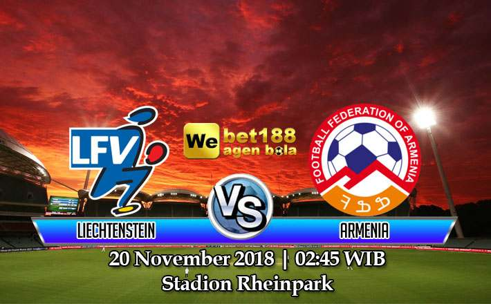 Prediksi Bola Liechtenstein vs Armenia 20 November 2018
