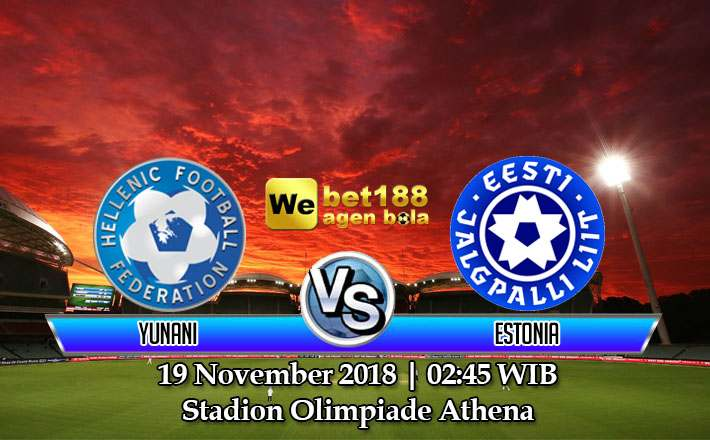 Prediksi Bola Yunani vs Estonia 19 November 2018