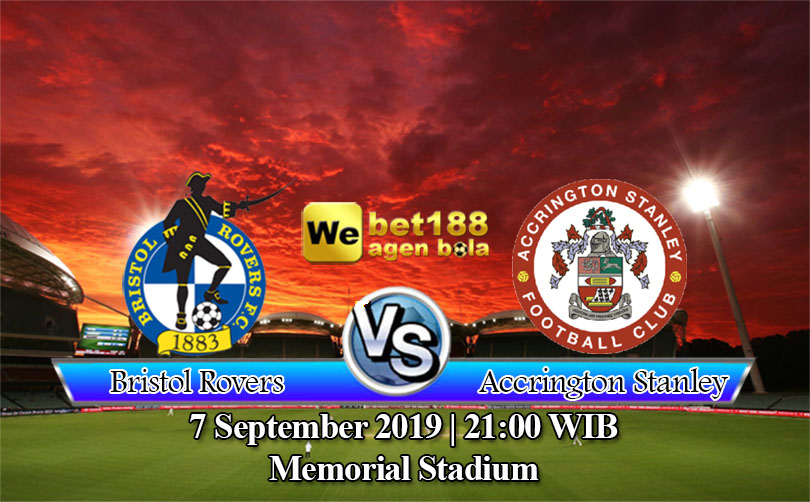 Prediksi Bola Bristol Rovers Vs Accrington Stanley 7 September 2019