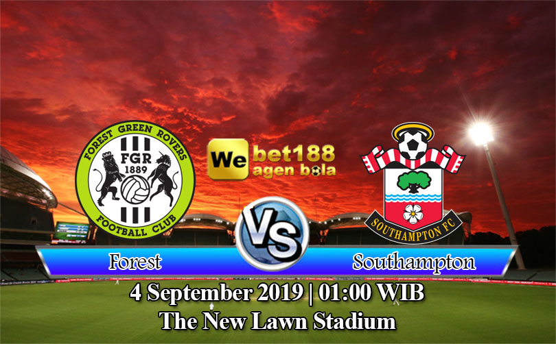 Prediksi Bola Forest Green Rovers Vs Southampton U21 4 September 2019