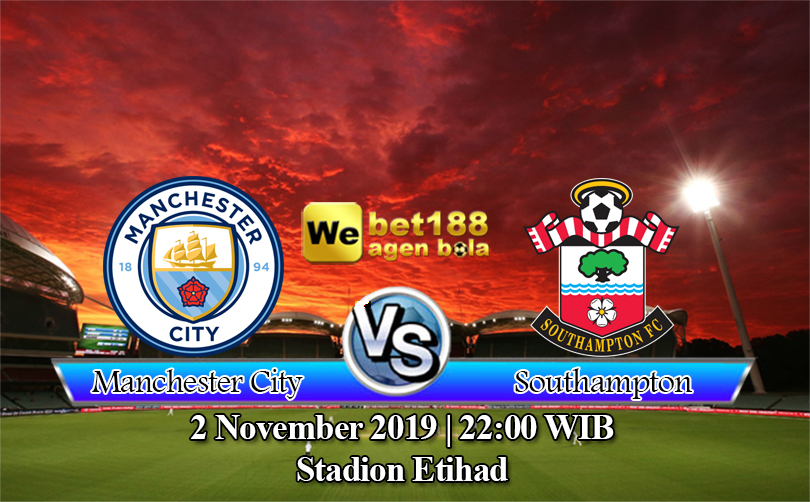Prediksi Bola Manchester City vs Southampton 2 November 2019