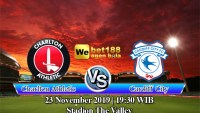 Prediksi Bola Charlton Athletic vs Cardiff City 23 November 2019