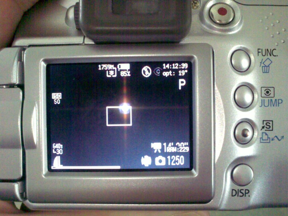 Canon S2IS - the Black Screen of Death (Update 2015)