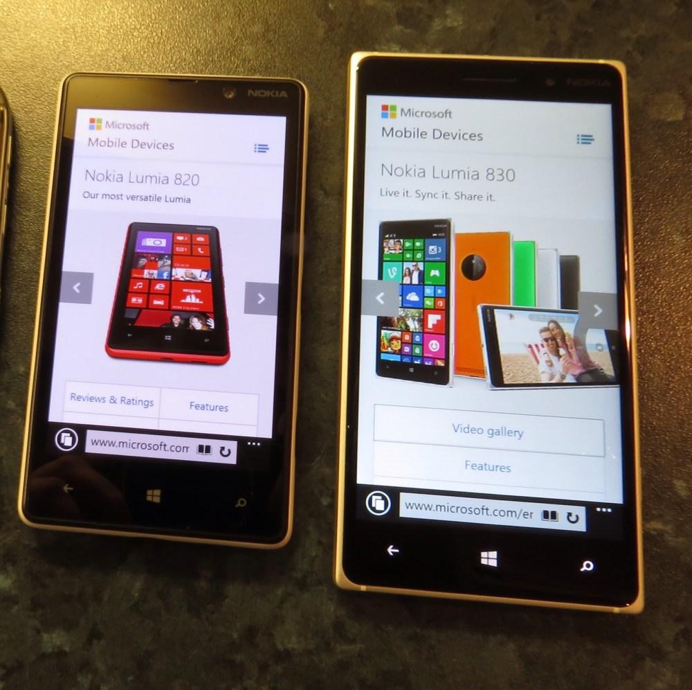Nokia Lumia 830 Review (1/5)