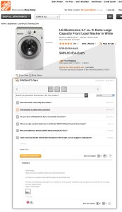 Home Depot Ask & Answer