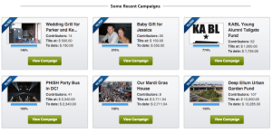 Crowdtilt campaigns