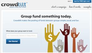 Crowdtilt crowd-funding site