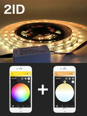 gledopto,ZigBee,RGBWW,RGBCCT simple - G2-ITLO-FN9C - GLEDOPTO ZigBee LED Light Strip Controller RGBCCT 1ID Work as 1 Light Dimmable Compatible with Hue Bridge App Control for RGB Warm White Cold White LED Strip Light Colors Changing Tape