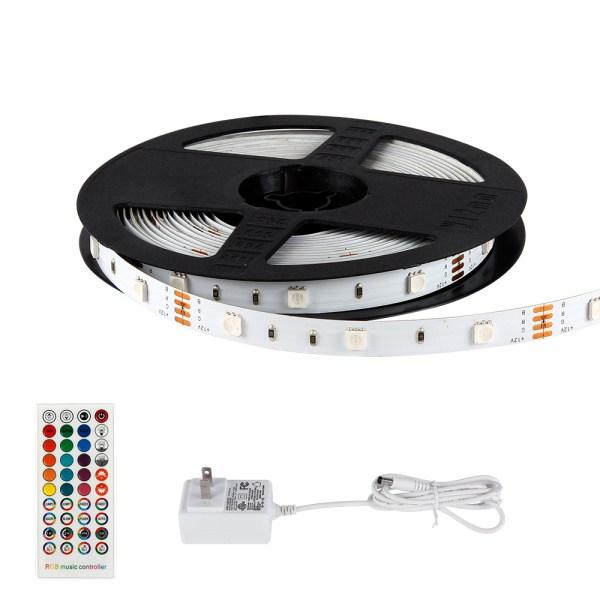smart led strip lights,Tuya APP Compatible,Kitchen simple - 195893280315 - Best Smart LED Strip light - RGBW WiFi - 16.4ft