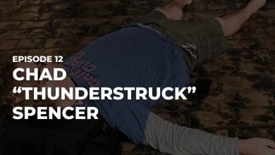 "Photo of Chad ""Thunderstruck"" Spencer on Chuck Yates Needs A Job Podcast"
