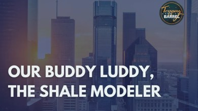 Photo of Our Buddy Luddy, The Shale Modeler on Tripping Over The Barrel
