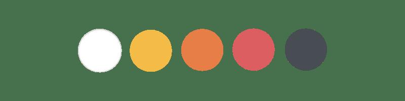 Palette de couleurs C'Benef