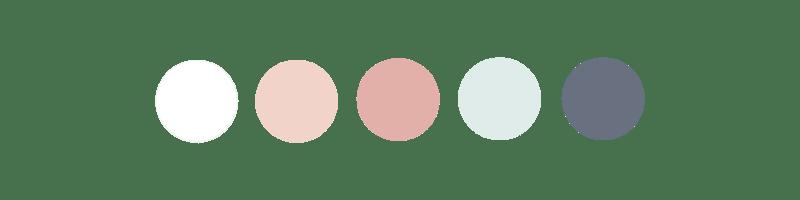Palette de couleurs Kids&cie