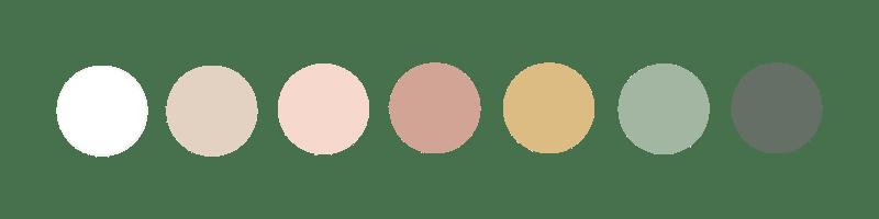 Palette de couleurs Emilie