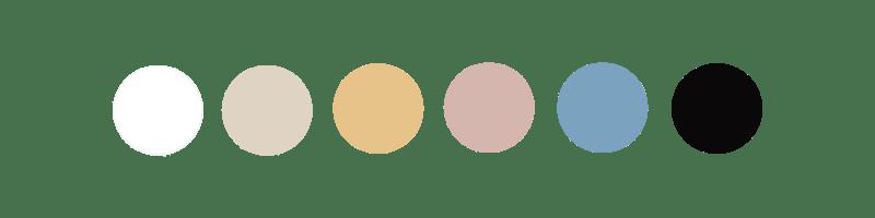 Palette de couleurs Kahart