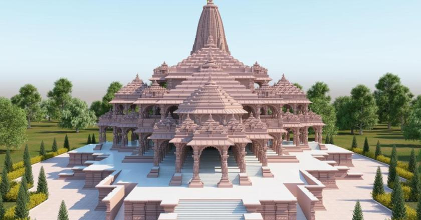 This is how Ram Temple at Ayodhya look like, the proposed model of Ram Temple.