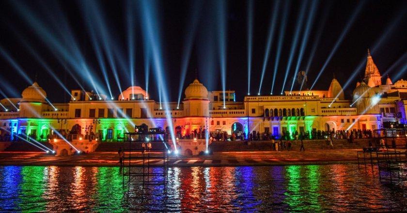 In Pics: Preparation in Full swing to celebrate Diwali in Ayodhya, Over 5.51 lakh diyas to light up Ram Jamnabhoomi