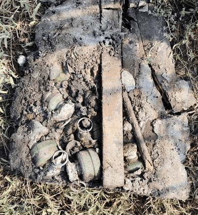 जम्मू-कश्मीर में सुरक्षाबलों ने नाकाम की आतंकी साजिश, चार चाइनीज ग्रेनेड किए बरामद