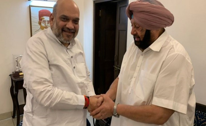 Former Punjab CM Capt Amarinder Singh meets Amit Shah, sparking off rumours