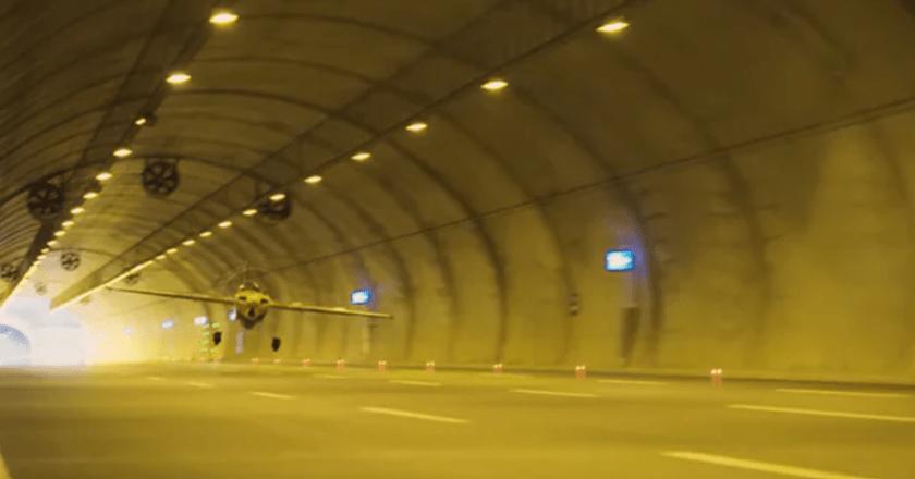 Watch: Pilot Dario Costa flies plane through tunnels, Sets Guinness World Record