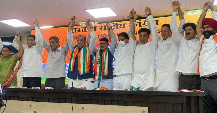 Uttarakhand Election 2022: Uttarakhand minister Yashpal Arya, his MLA son join Congress
