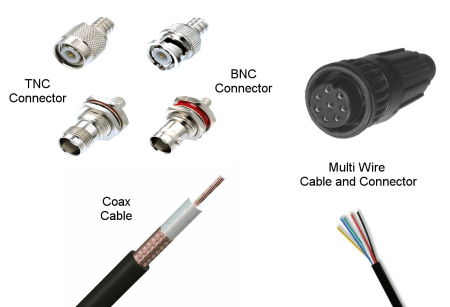 GPS Antenna Cables+Connectors