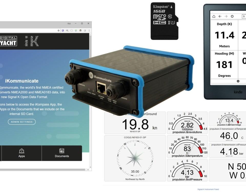 iKommunicate obtient une mise à jour de sa carte SD