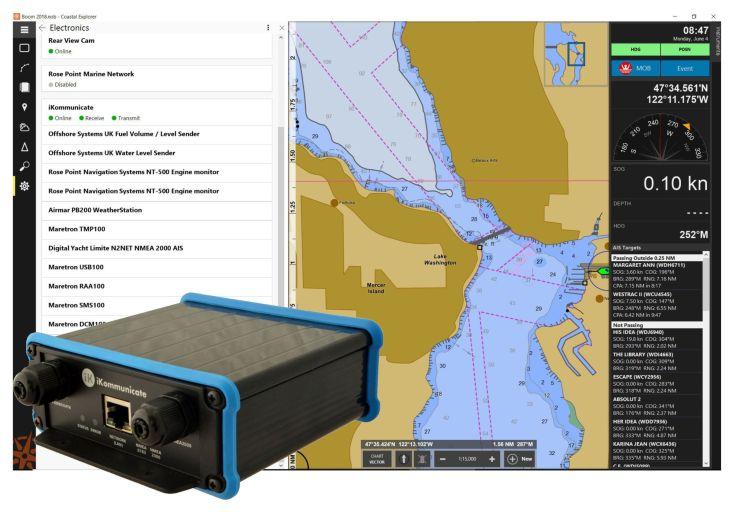 Coastal Explorer & iKommunicate