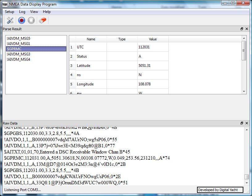 Testing NMEA0183