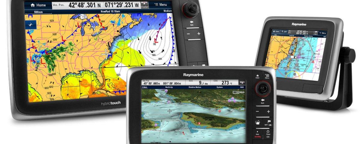 Raymarine a, c and e Series Plotters with AIS over NMEA2000