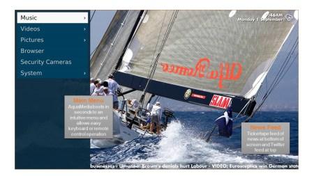 aquamedia front page