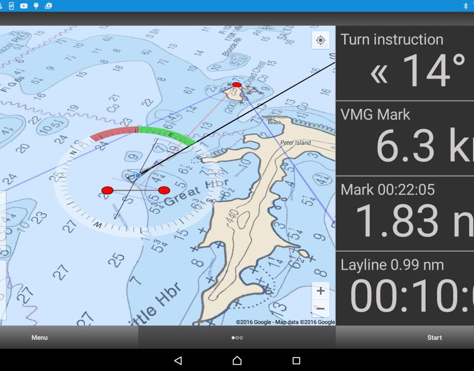 SailRacer App