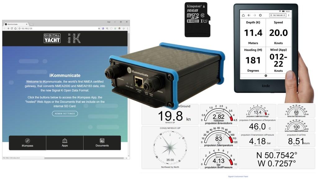 iKommunicate gets SD Card Upgrade - Digital Yacht News