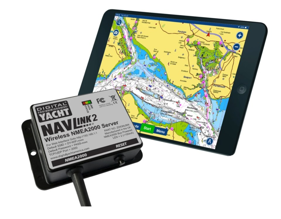 Using NavLink2 with Navionics Boating App
