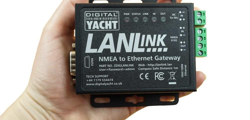 lanlink is a nmea to ethernet gateway