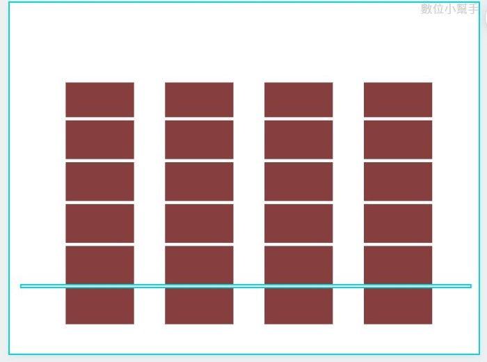 改變線條顏色,可使線條隱藏於背景之中。