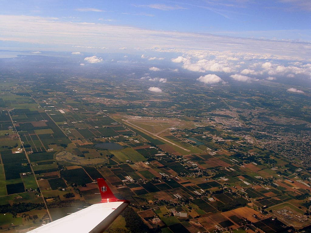 city of abbotsford aerial view