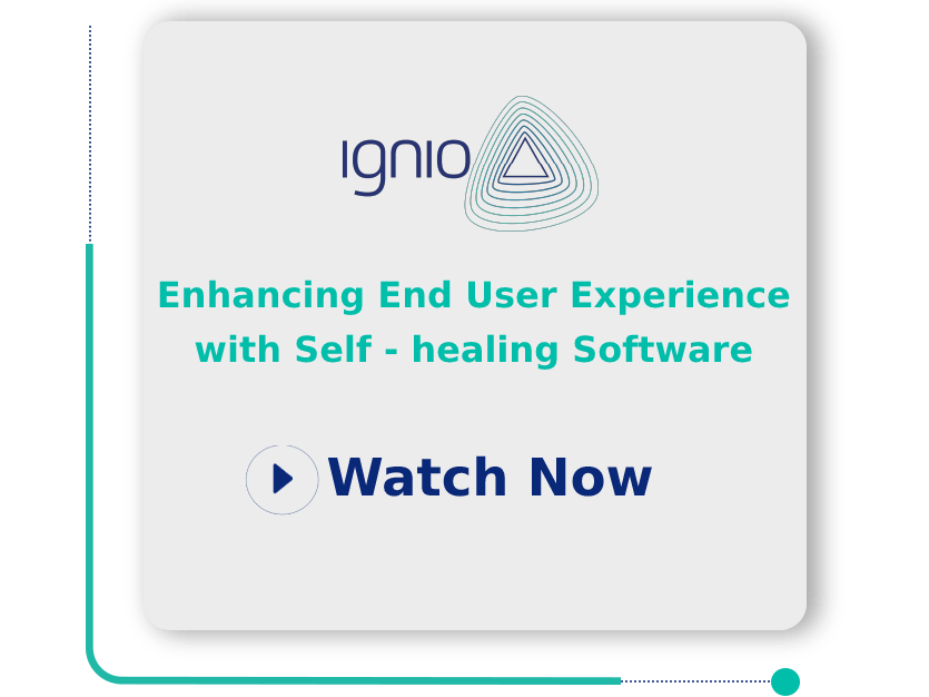Enhancing End User Experience with Self-healing Software