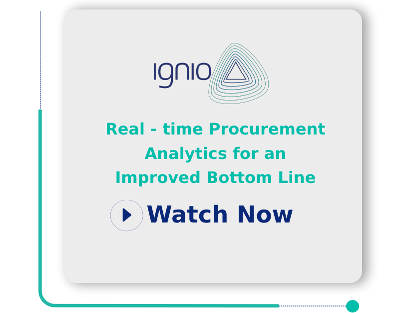 Real-time Procurement Analytics for an Improved Bottom Line
