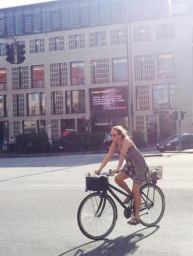 Cykel ved det store kryds
