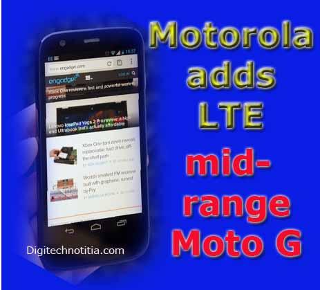 Motorola Moto G handset