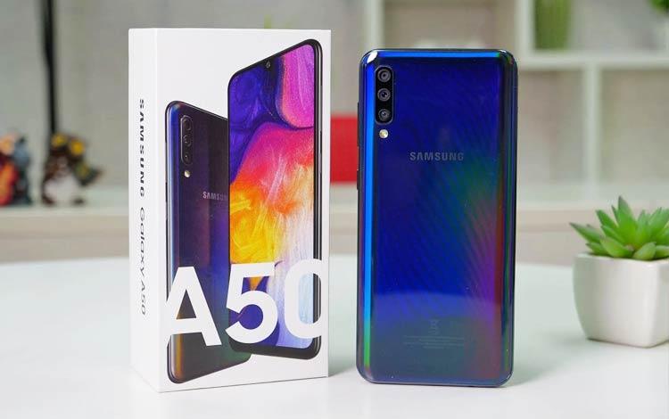 Smartphone Samsung Dengan Performa Terbaik 2019 - Galaxy A50