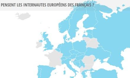 Que pensent les internautes européens des Français ?