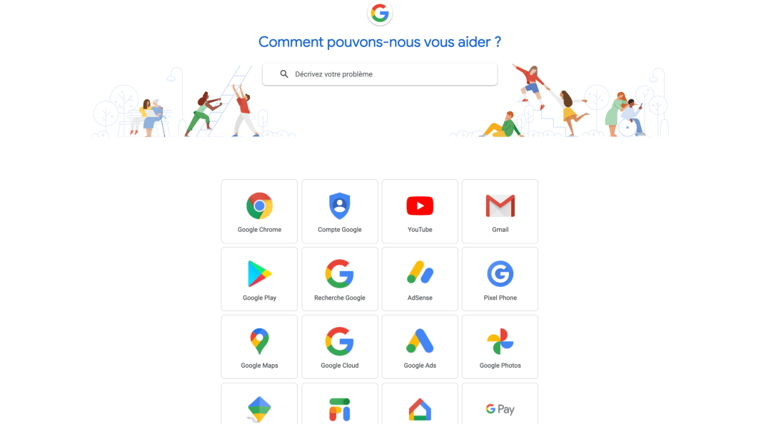 Contact Google Support