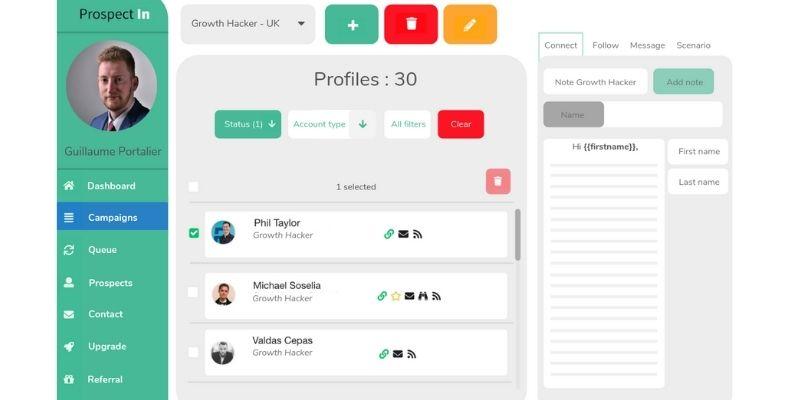 ProspectIn : la solution pour automatiser la prospection sur LinkedIn