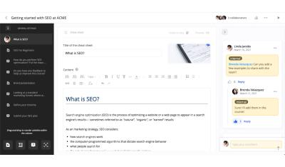 360Learning Screenshot